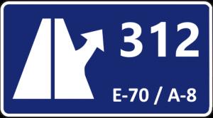 Salida Autopista