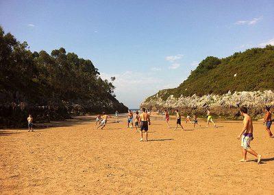 playa Guadamía, segura y familiar